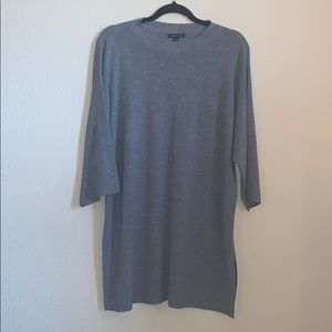 EILEEN FISHER mock neck tunic